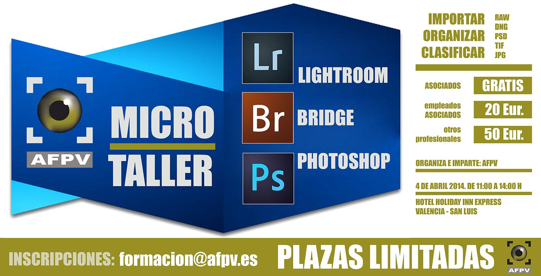 microtaller para importar de manera correcta y rentable las imágenes desde la cámara fotográfica